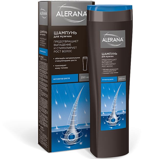 Алерана шампунь для мужчин Активатор роста 250 мл Alerana.